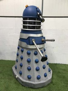 John Pertwee Signed Doctor Who Dalek at Morris Leslie SOLD by Auction