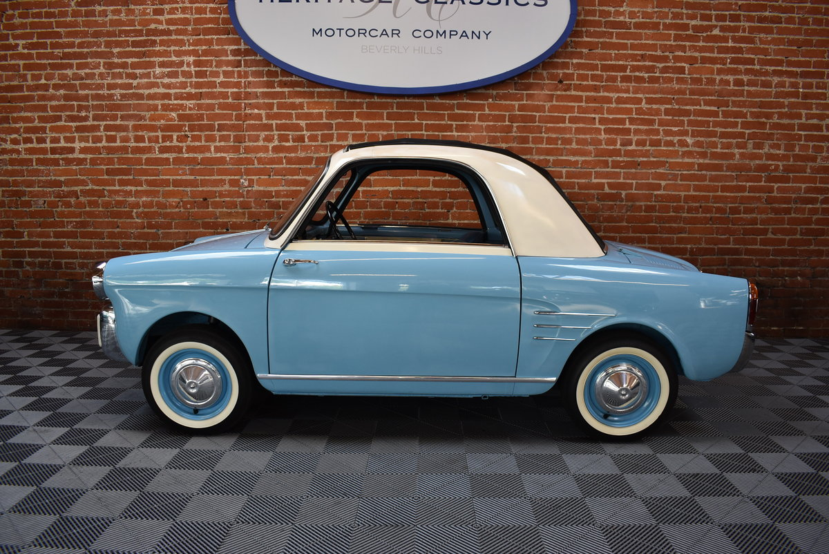 1961 Bianchina Trasformable Special SOLD (picture 2 of 6)