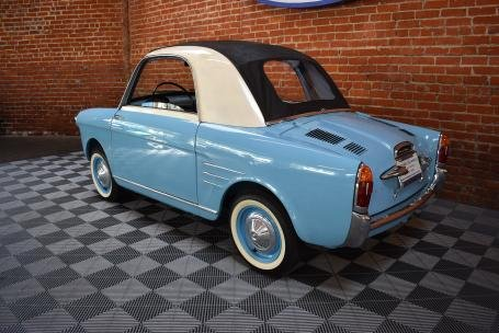1961 Autobianchi Bianchina Trasformable Special = Blue $39.5 For Sale (picture 2 of 6)