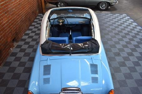 1961 Autobianchi Bianchina Trasformable Special = Blue $39.5 For Sale (picture 3 of 6)