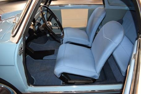 1961 Autobianchi Bianchina Trasformable Special = Blue $39.5 For Sale (picture 4 of 6)