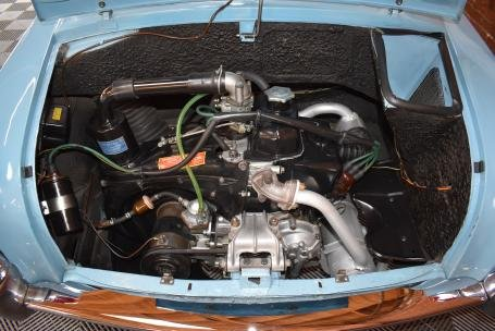 1961 Autobianchi Bianchina Trasformable Special = Blue $39.5 For Sale (picture 6 of 6)
