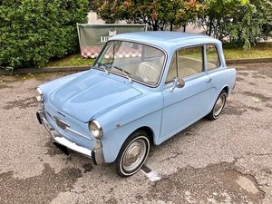 1963 AUTOBIANCHI - BIANCHINA SPECIAL SOLD