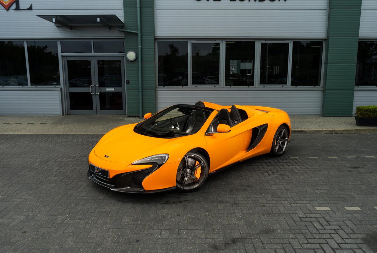 MCLAREN 650S SPIDER 2015 For Sale (picture 1 of 6)