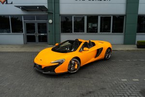 MCLAREN 650S SPIDER 2015 For Sale