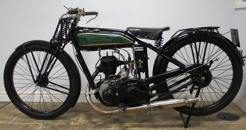 1929 New Imperial Standard Semi Sports 350 cc 3.50 hp  SOLD (picture 1 of 6)