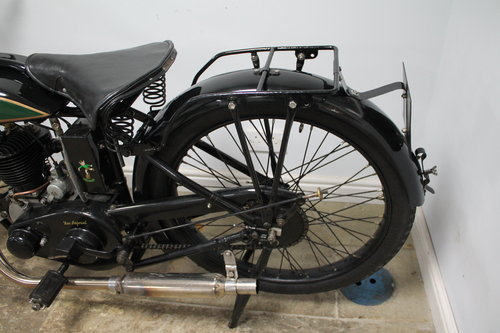 1929 New Imperial Standard Semi Sports 350 cc 3.50 hp  SOLD (picture 2 of 6)