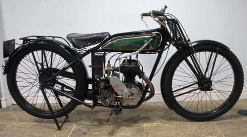 1929 New Imperial Standard Semi Sports 350 cc 3.50 hp  SOLD (picture 6 of 6)