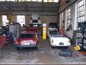 Classic Car Service Repair and Restoration in South Devon For Sale