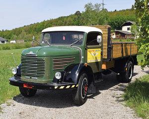 1957 Steyr 380 f Großraumpritsche (ohne Limit) For Sale by Auction