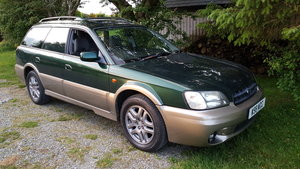 2000 Subaru Legacy Outback 2.5 AWD Auto Estate 1 Owner New MOT SOLD
