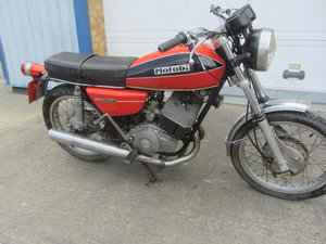 MOTOBI BENELLI 250 2C MOTORCYCLE SOLD