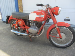GILERA 125 cc ORIGINAL MOTORCYCLE For Sale