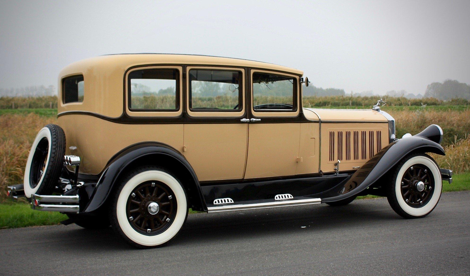 Pierce Arrow Model 125 4 Door Sedan 1929 For Sale (picture 2 of 6)