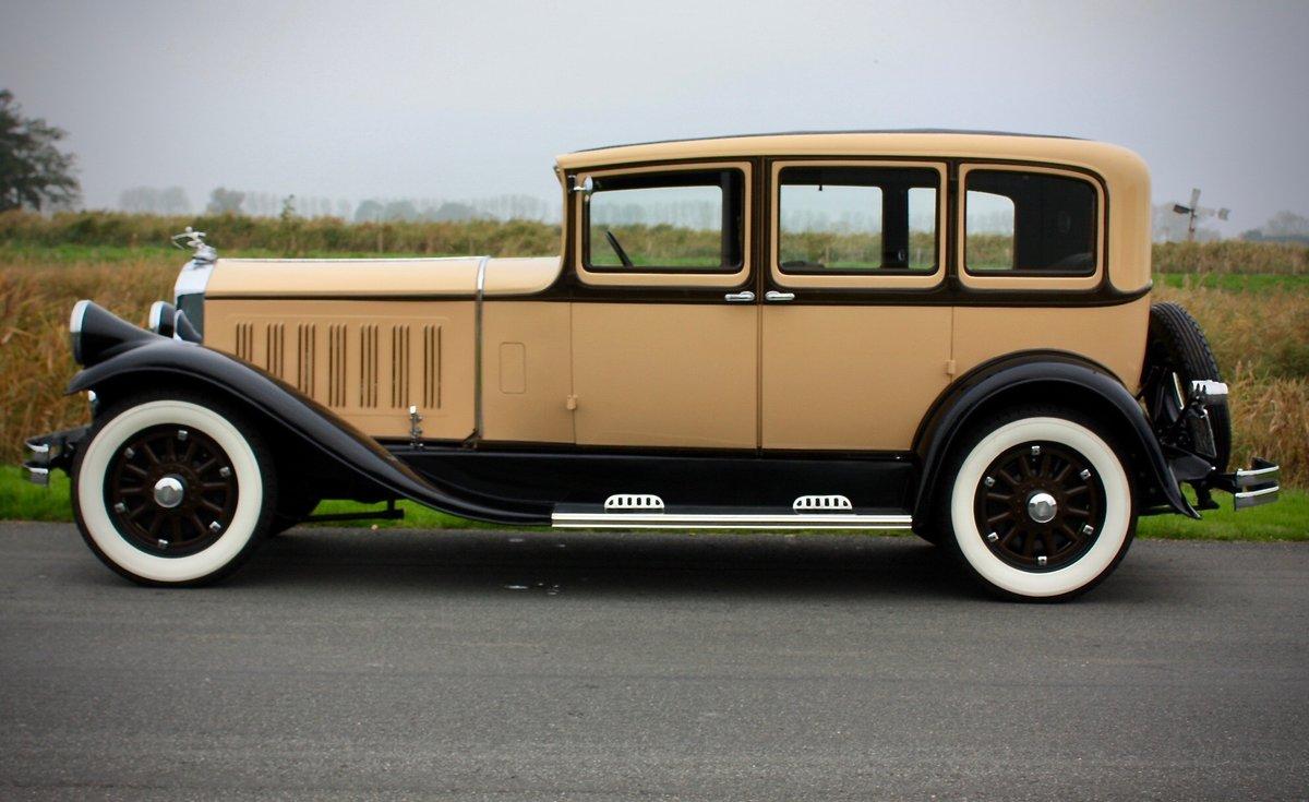 Pierce Arrow Model 125 4 Door Sedan 1929 For Sale (picture 3 of 6)