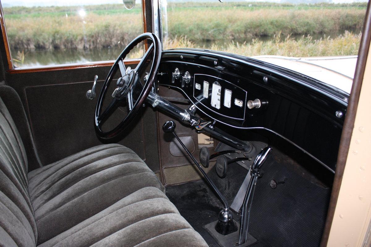 Pierce Arrow Model 125 4 Door Sedan 1929 For Sale (picture 5 of 6)