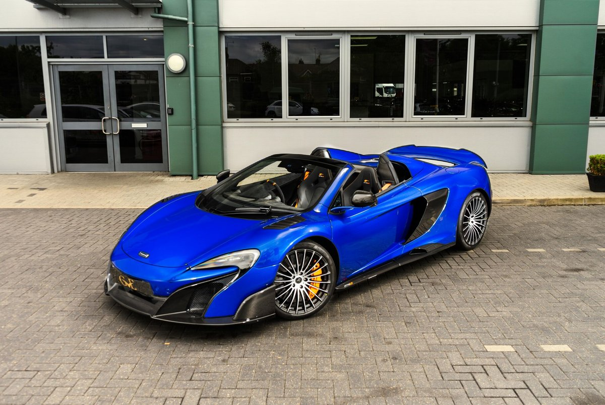 McLaren 675LT Spider 2016/66 For Sale (picture 1 of 6)