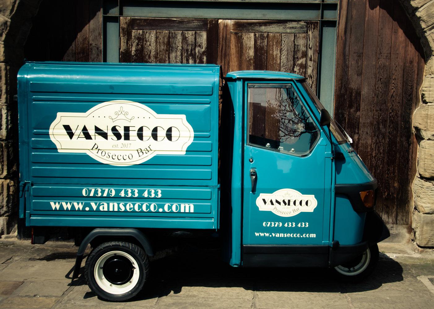 1996 Piaggio Ape Mobile Prosecco Van    REDUCED PRICE For