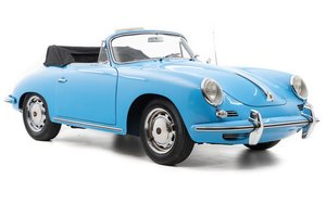 Picture of 1964 Porsche 356C Cabriolet = Restored Blue(~)Black $119k For Sale
