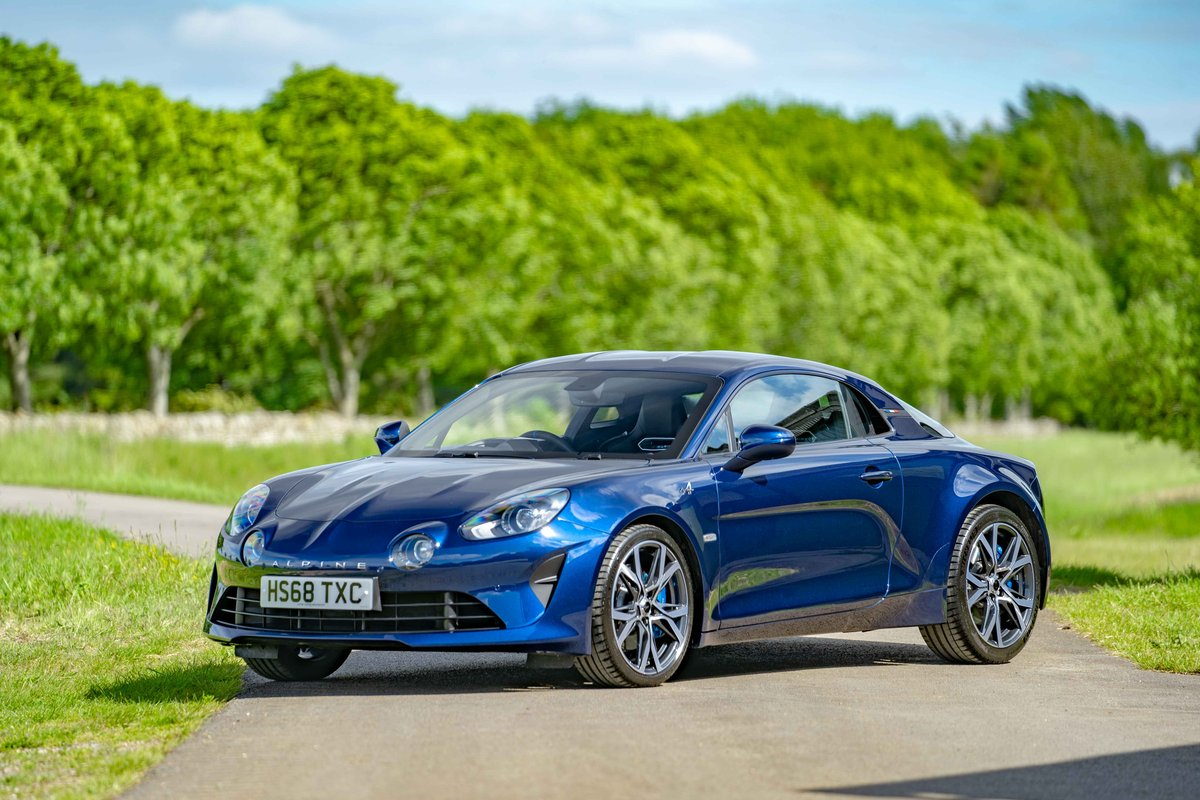 2018 (68) Alpine A110 - LEGENDE - 1,800 miles from new SOLD (picture 1 of 6)