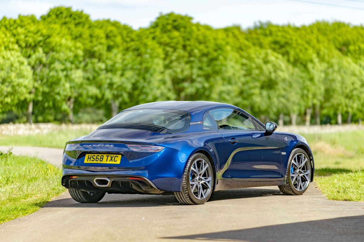 2018 (68) Alpine A110 - LEGENDE - 1,800 miles from new SOLD (picture 2 of 6)
