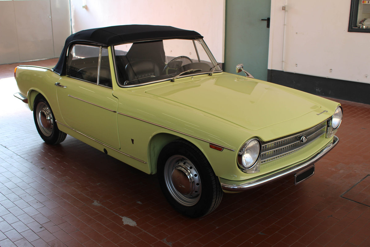 1963 Innocenti S 1100 OSI Ghia spider For Sale (picture 1 of 6)