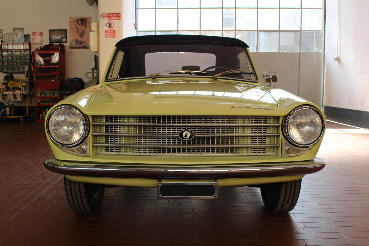 1963 Innocenti S 1100 OSI Ghia spider For Sale (picture 2 of 6)
