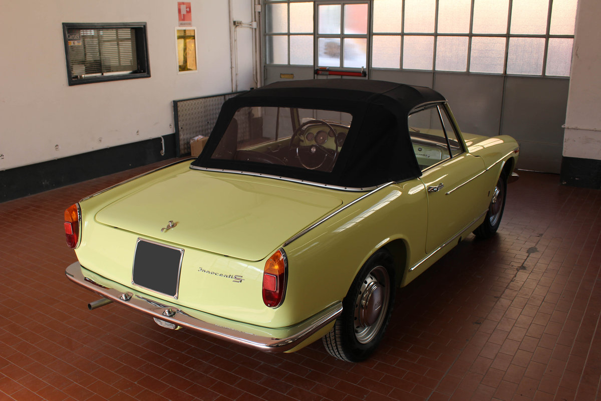 1963 Innocenti S 1100 OSI Ghia spider For Sale (picture 3 of 6)