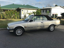 1983 BMW 320i Convertible Cabriolet  RHD  New Top+T-belt For Sale