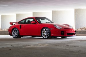 2004 Porsche 911 GT2 = Rare 1 of 2 Red made 5k miles $197.5k For Sale