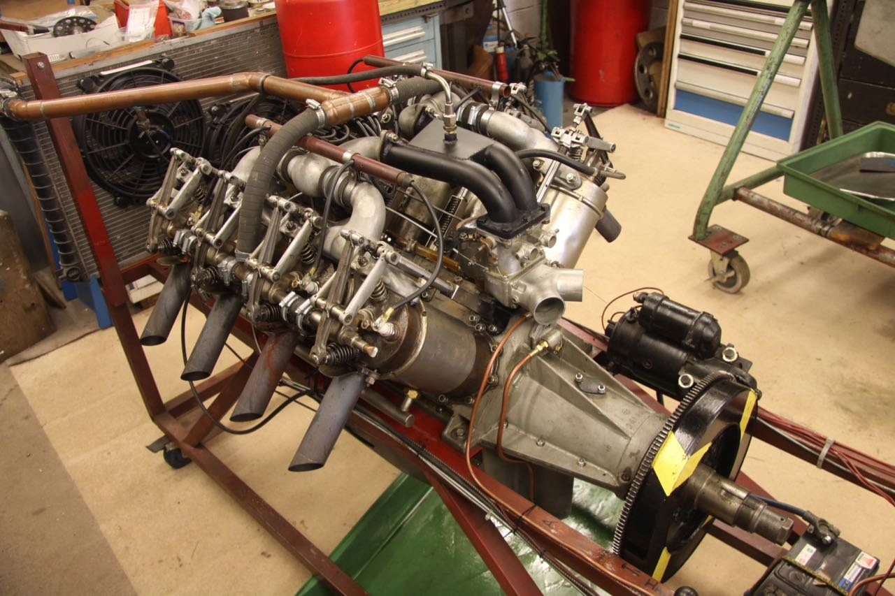 1916 Curtiss 8.2 litre V8 Aero Engine  For Sale (picture 1 of 6)