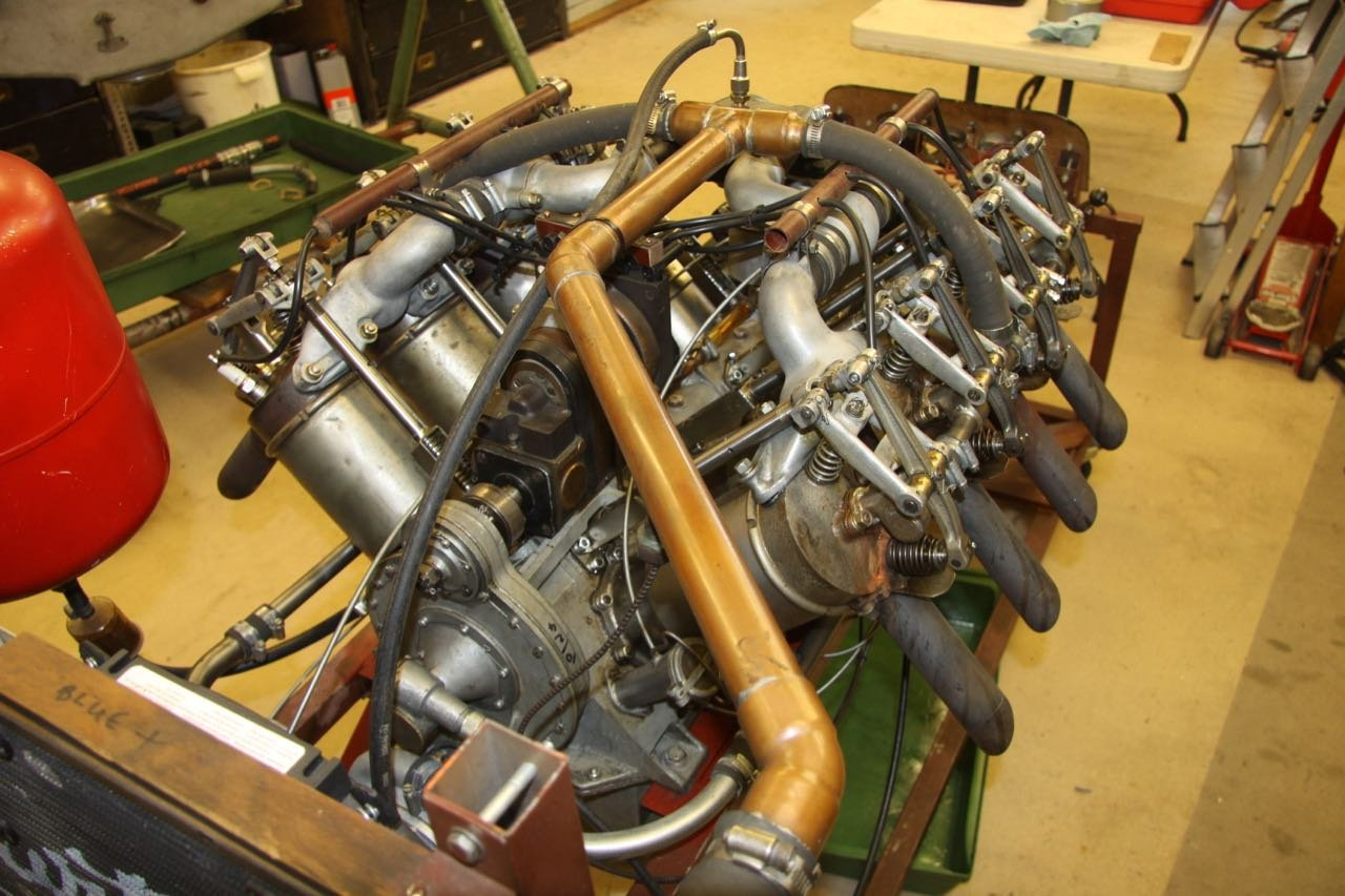 1916 Curtiss 8.2 litre V8 Aero Engine  For Sale (picture 6 of 6)