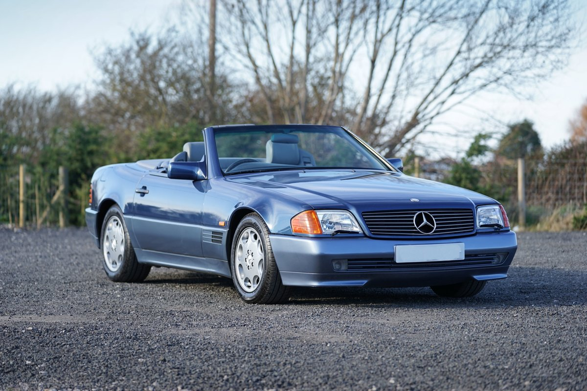 1992 Mercedes-Benz SL 300 R129 Auto Blue Low Mileage Immaculate  For Sale (picture 6 of 6)