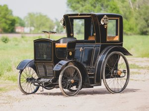 1900 Rockwell Hansom Cab