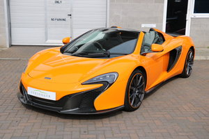 2014 McLaren 650S Spider  For Sale
