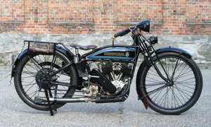 1927  Husqvarna Model 180 550cc V-twin