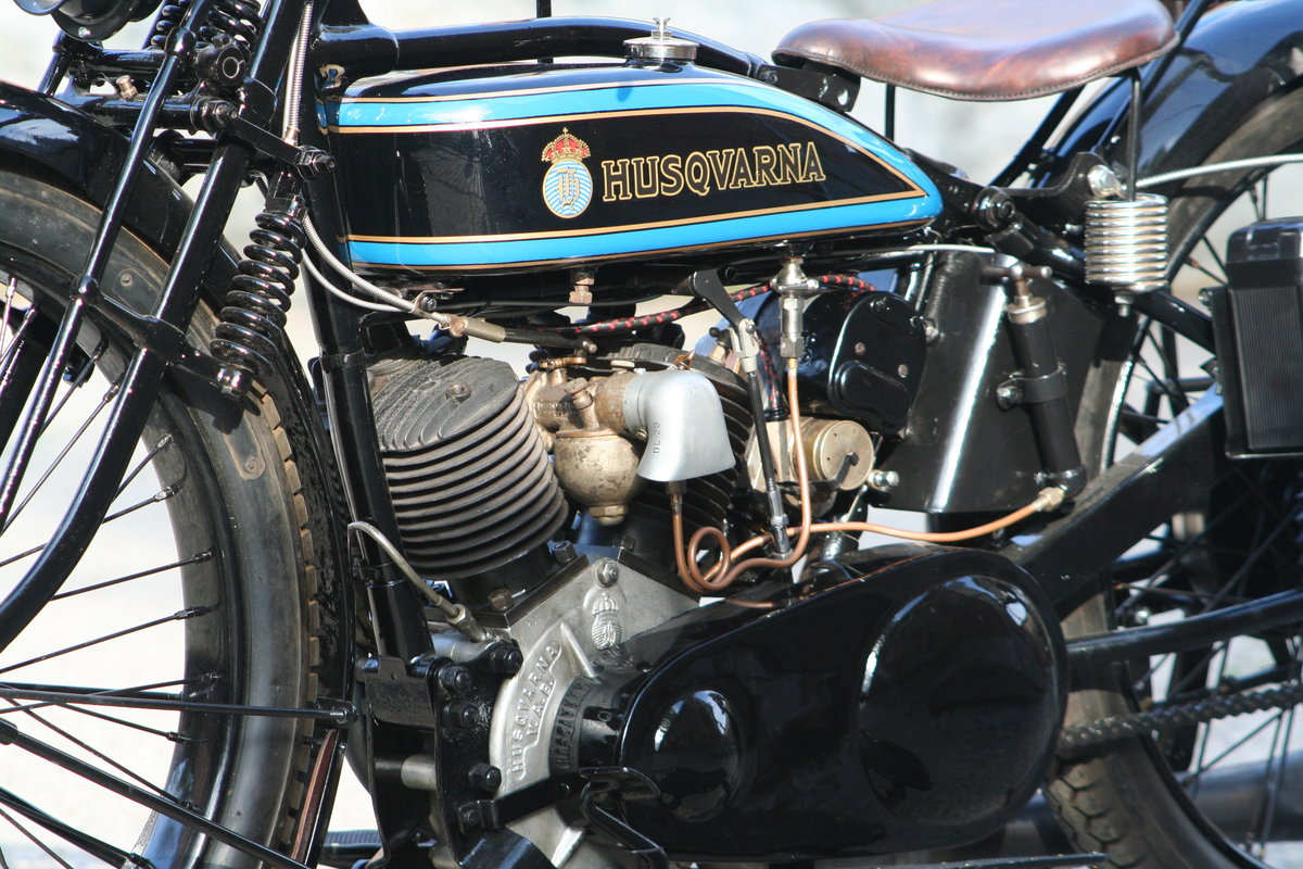 1927 Husqvarna Model 180 550cc V-twin For Sale (picture 4 of 6)
