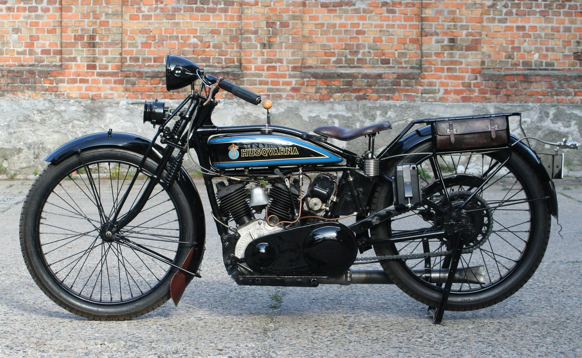 1927 Husqvarna Model 180 550cc V-twin For Sale (picture 5 of 6)