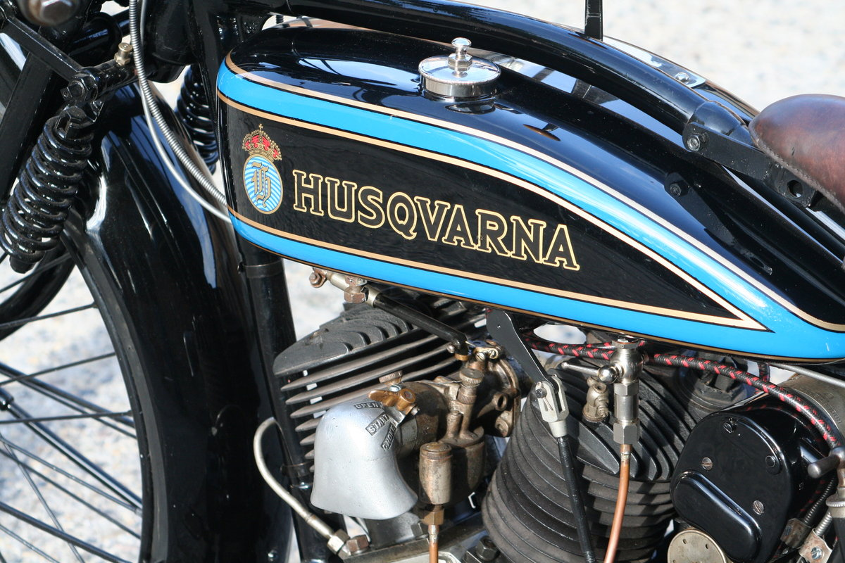 1927 Husqvarna Model 180 550cc V-twin For Sale (picture 6 of 6)