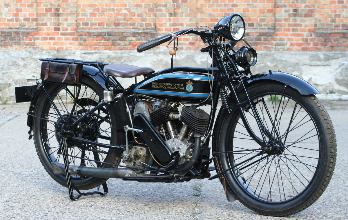 1927 Husqvarna Model 180 550cc V-twin For Sale (picture 3 of 6)