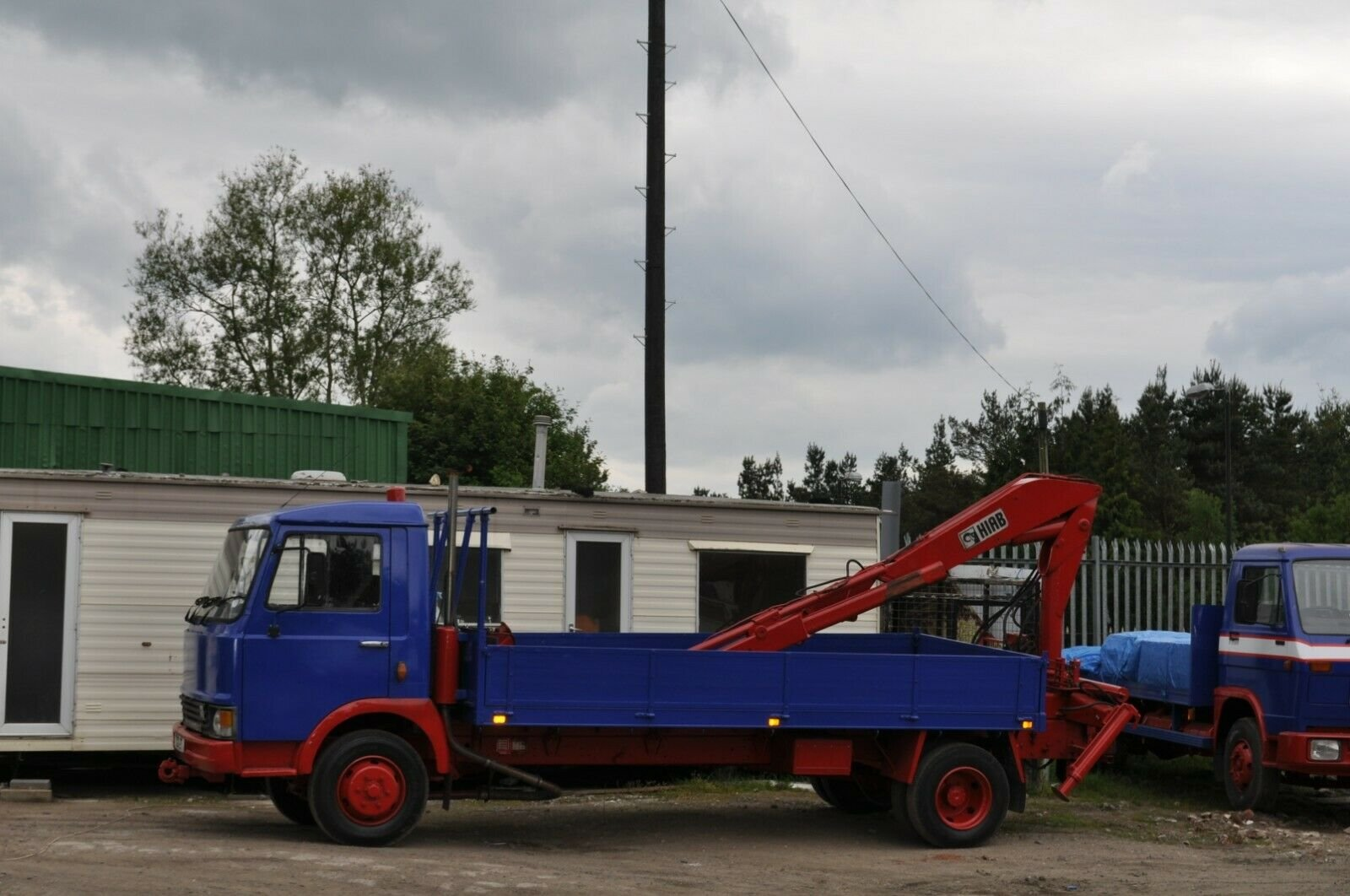 1982 MAGIRUS DEUTZ 90 M 75 TRUCK WITH HIAB PRIVATE NUMBER PLATE SOLD (picture 2 of 6)