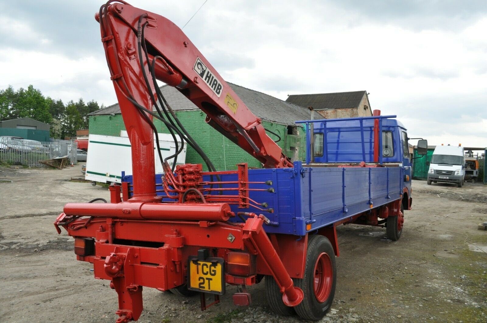 1982 MAGIRUS DEUTZ 90 M 75 TRUCK WITH HIAB PRIVATE NUMBER PLATE SOLD (picture 3 of 6)