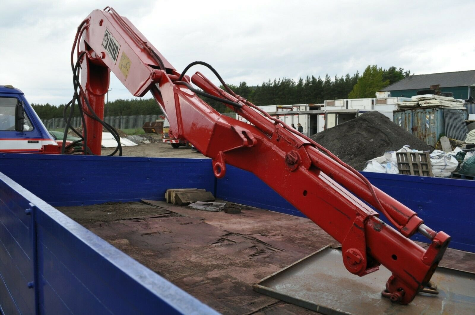 1982 MAGIRUS DEUTZ 90 M 75 TRUCK WITH HIAB PRIVATE NUMBER PLATE SOLD (picture 5 of 6)