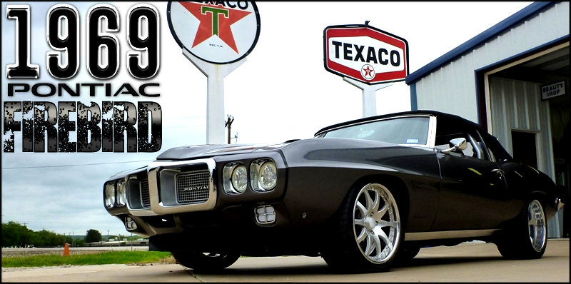 1969 Pontiac FireBird Convertible = Roadster Custom $79.2k  For Sale (picture 2 of 6)