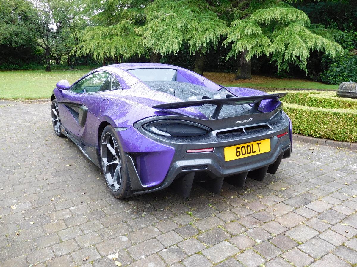 2019 McLaren 600 LT Coupe - Spider Registration '600LT' For Sale (picture 3 of 6)