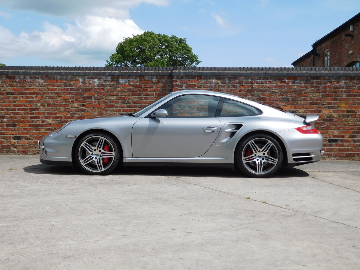 2008 Porsche 911 (997) Turbo GT Silver Sports Chrono Plus For Sale (picture 1 of 6)
