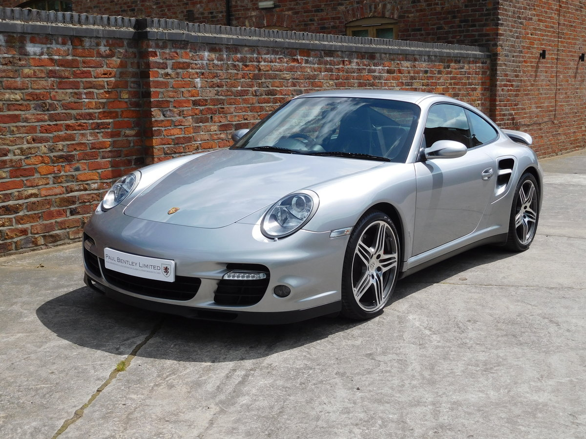 2008 Porsche 911 (997) Turbo GT Silver Sports Chrono Plus For Sale (picture 2 of 6)