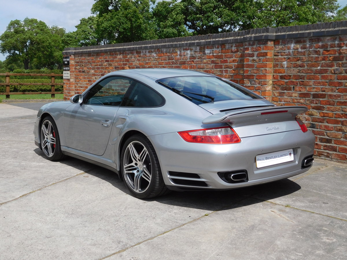 2008 Porsche 911 (997) Turbo GT Silver Sports Chrono Plus For Sale (picture 3 of 6)