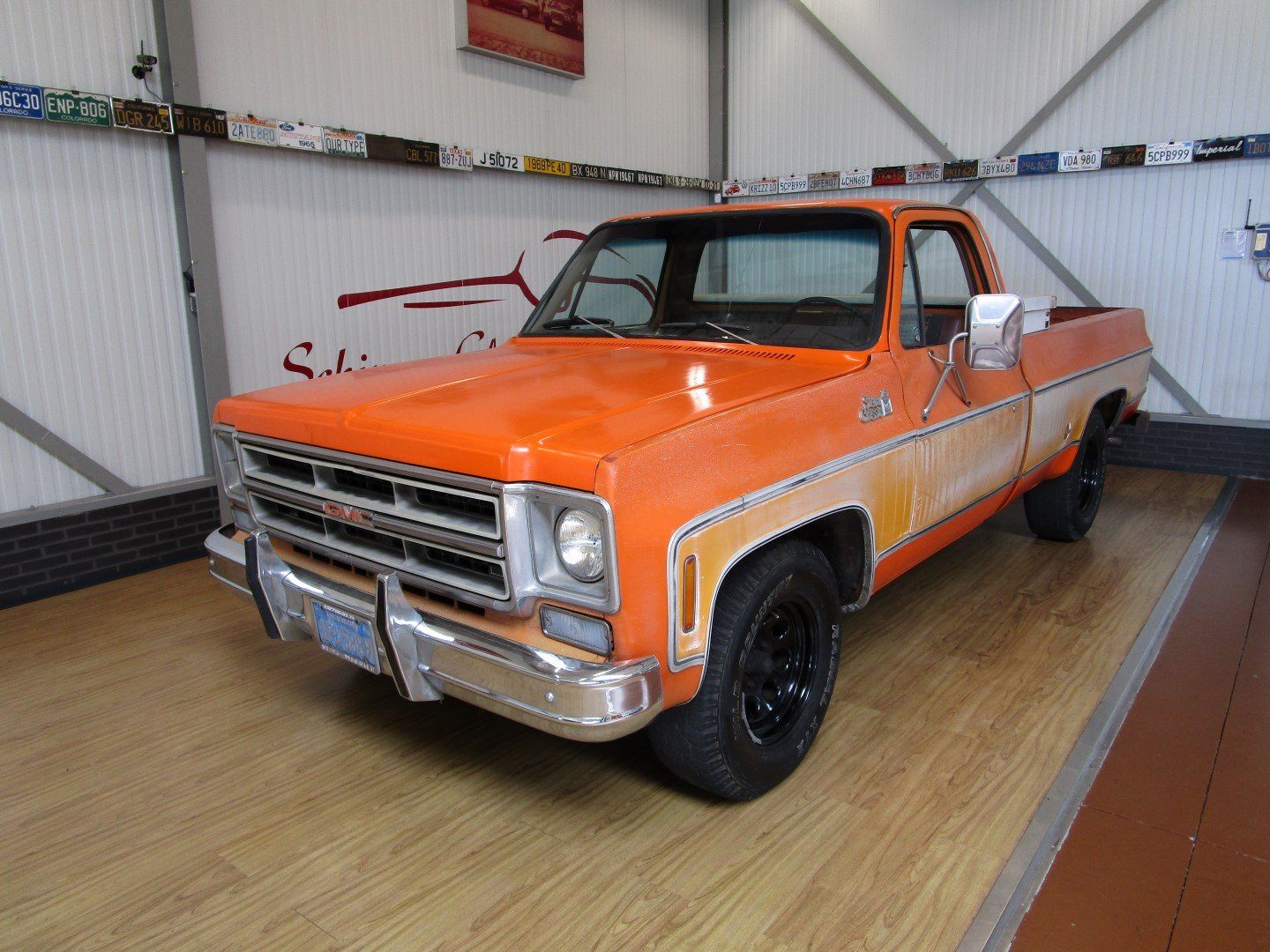 1976 GMC 15 Sierra Classic 350CU V8 Longbed Pick Up For Sale (picture 1 of 6)