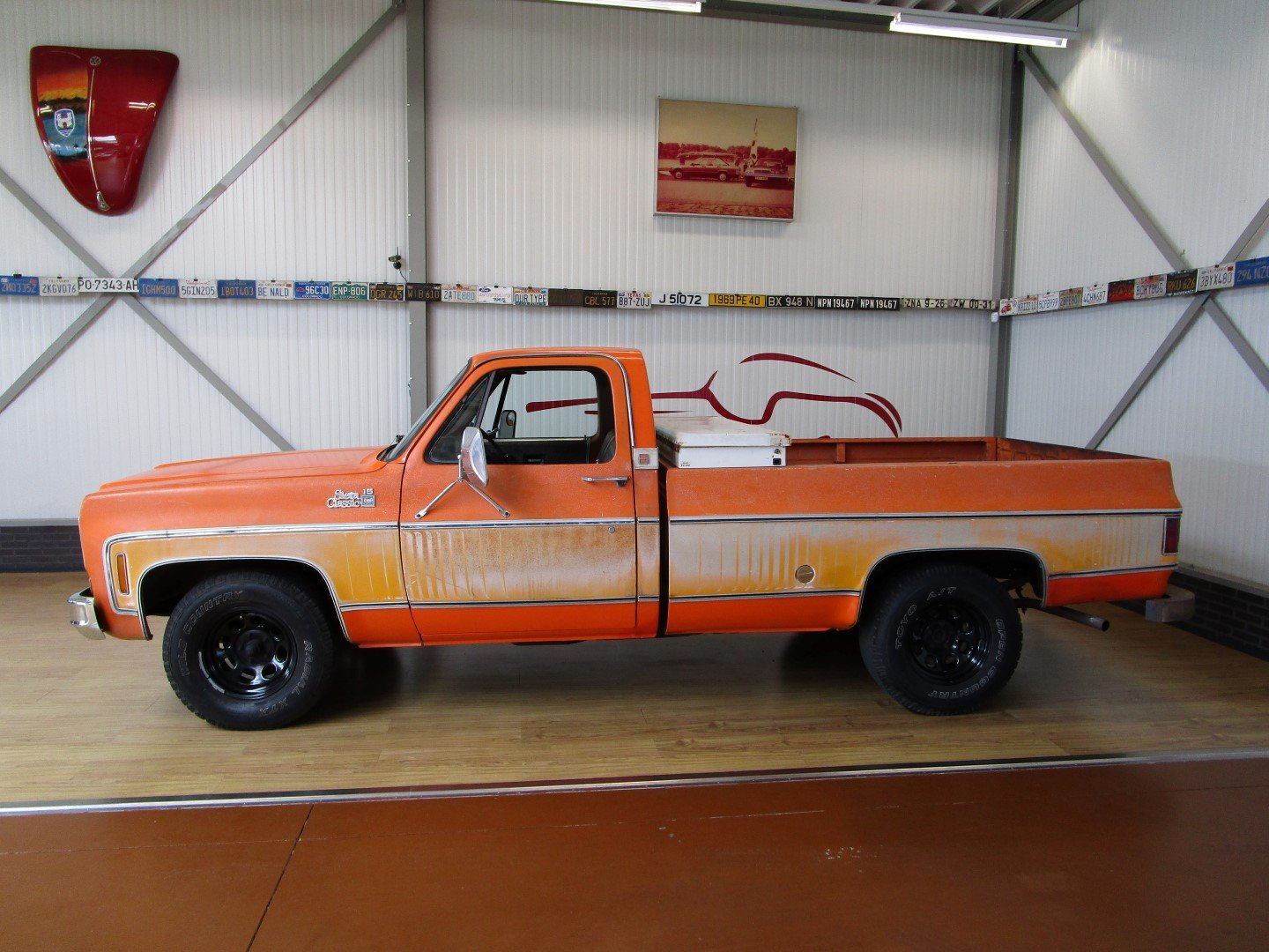1976 GMC 15 Sierra Classic 350CU V8 Longbed Pick Up For Sale (picture 2 of 6)